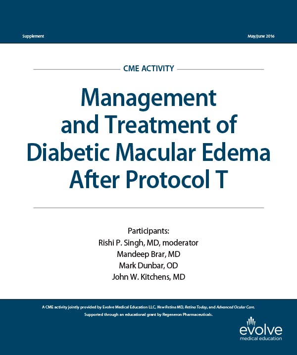 Management and Treatment of Diabetic Macular Edema After Protocol T