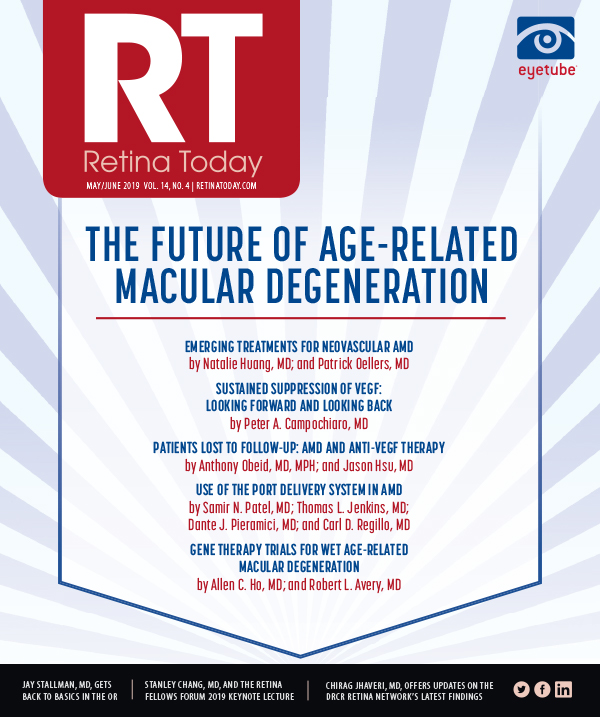 Retina Today - Emerging Treatments for Neovascular AMD (May