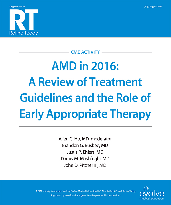 AMD in 2016: A Review of Treatment Guidelines and the Role of Early Appropriate Therapy