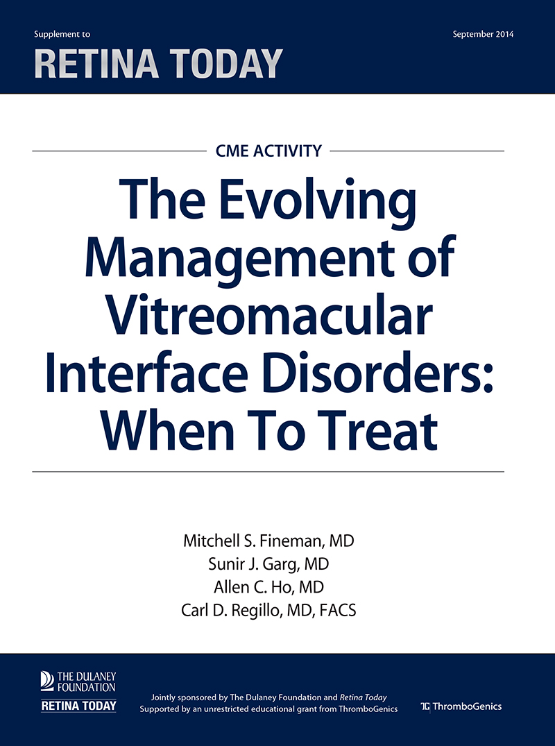 The Evolving Management of Vitreomacular Interface Disorders: When To Treat