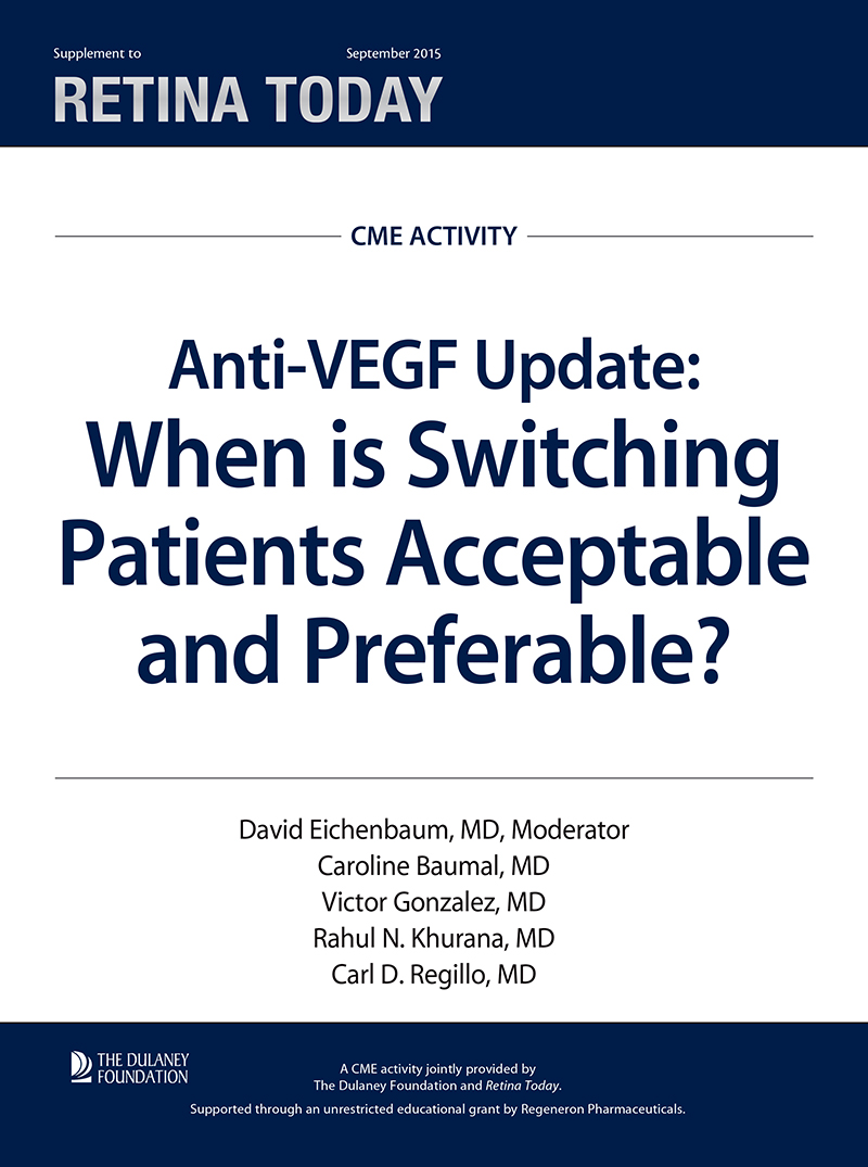 Anti-VEGF Update: When is Switching Patients Acceptable and Preferable?
